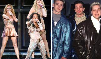 Stars der 90er: Spice Girls und N'Sync. (Foto)