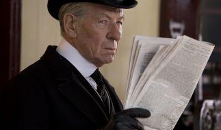 Sir Ian McKellen brilliert als gealterter Meisterdetektiv Sherlock Holmes. (Foto)