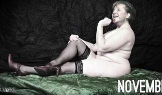 Wer hätte das gedacht: Angie kann auch sexy. (Foto)