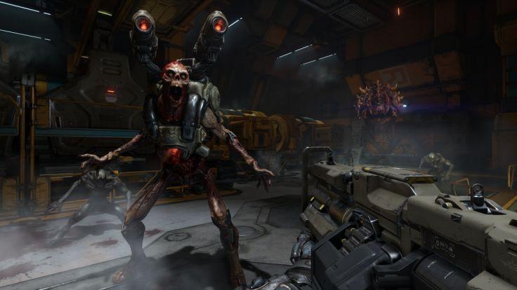 """Gewaltorgie: """"Doom"""" ist und bleibt ein Spiel der härteren Gangart. (Foto)"""