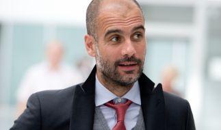 Pep Guardiola hat sich entschieden: Ab der kommenden Saison wird der Katalane Trainer bei Manchester City. (Foto)
