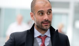 Laut Medien-Berichten sitzt Pep Guardiola in der kommenden Saison bei Manchester City auf der Bank. (Foto)
