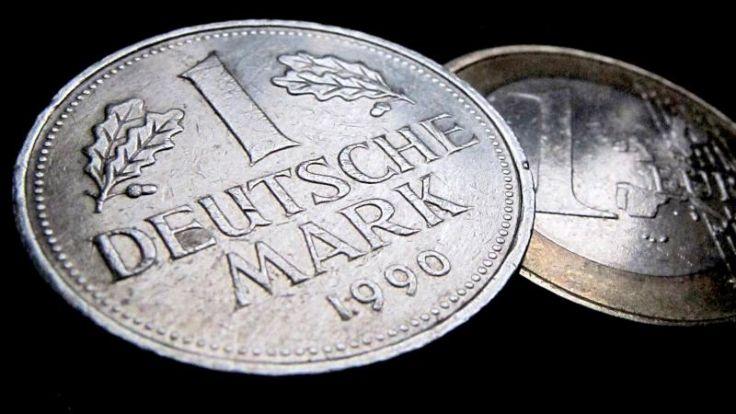 54 Prozent der D-Mark-Münzen sind bis heute nicht umgetauscht worden. (Foto)