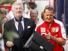 Von 1988 bis 2010 waren Willi Weber (links) und Michael Schumacher ein Team. (Foto)
