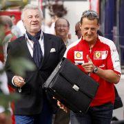 Medienbericht: Schumis Ex-Manager hat Besuchsverbot (Foto)
