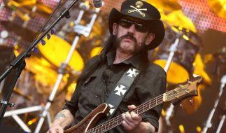 Lemmy Kilmister bei einem Aufritt auf dem Wacken Open Air Festival. (Foto)