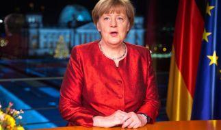 Merkel sagt in ihrer Neujahrsansprache 2015, von gelungener Einwanderung habe ein Land noch immer profitiert - wirtschaftlich wie gesellschaftlich. (Foto)