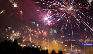 Millionen Menschen genießen in der Silvesternacht das Feuerwerk. (Foto)