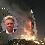 Feuer-Drama zu Silvester in Luxushotel! Boris Becker vor Ort (Foto)