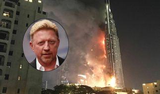 Boris Becker meldete sich via Twitter in der Silvesternacht aus Dubai. (Foto)