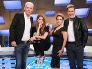 Die neue DSDS-Jury: v.l. Scooter-Frontman HP Baxxter, Shooting-Star Vanessa Mai, Schlagerstar Michelle und Erfolgsproduzent Dieter Bohlen. (Foto)