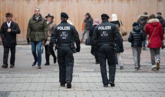 In München sind zur Zeit 200 Polizisten im Einsatz. (Foto)