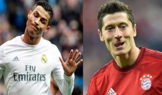 Kickt Lewandowski bald für Real Madrid? (Foto)