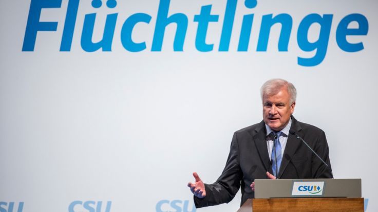 Der bayerische Ministerpräsident Horst Seehofer. (Foto)