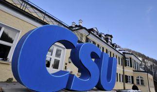 Alarmbereitschaft in Bayern: Die CSU-Klausurtagung in Wildbad Kreuth am Dreikönigstag steht aufgrund einer Terror-Warnung unter besonderen Vorsichtsmaßnahmen. (Foto)