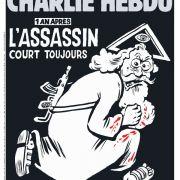 Charlie Hebdo zeigt mordenden Gott auf Titel der Sonderausgabe (Foto)