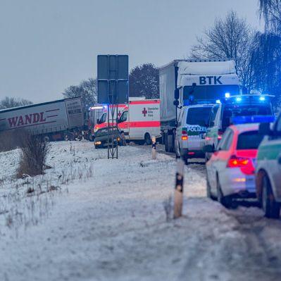 Eisregen, Glätte und Schnee! Winter sorgt für Chaos in Deutschland (Foto)