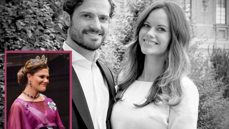 Freuen sich auf den Nachwuchs: Kronprinzessin Victoria, Prinz Carl Philip und Prinzessin Sofia. (Foto)
