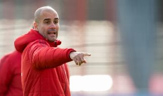 Pep Guardiola zieht es in die englische Premier League. (Foto)