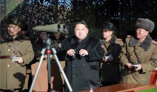Kim Jong Un testete eine Wasserstoffbombe - und schockte damit den Rest der Welt. (Foto)
