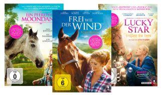Gewinnen Sie mit news.de eines von drei Filmpaketen mit tollen DVDs für Pferdefans. (Foto)
