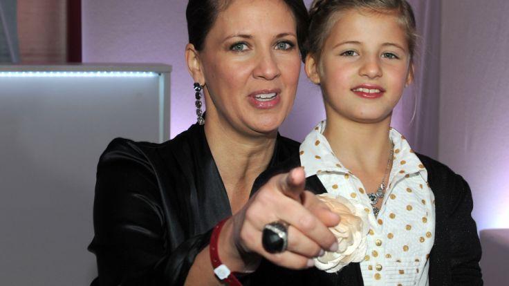 Bald in Amerika: Dana und Tochter Emma Schweiger. (Foto)