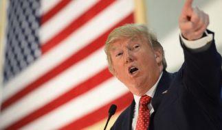 Donald Trump ist für seine rassistischen Hasstiraden bekannt. (Foto)