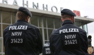 Nach den sexuellen Übergriffen auf Frauen in der Silvesternacht verstärkt die Polizei die Präsenz am Hauptbahnhof. (Foto)
