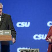 Folgt heute eine neue Runde Merkel vs. Seehofer? (Foto)