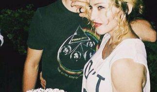 Ein Bild aus glücklicheren Tagen: Madonna mit Sohn Rocco. (Foto)
