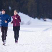 Kann ich bei -10 Grad noch joggen? (Foto)