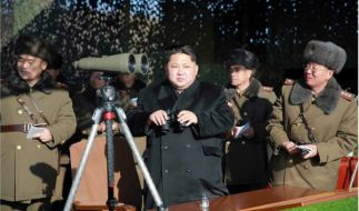 Kim Jong Un schockte die Weltöffentlichkeit mit einem Wasserstoffbombentest. (Foto)