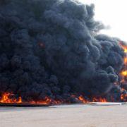 Mindestens 50 Tote bei Anschlag auf Polizeicamp in Libyen (Foto)