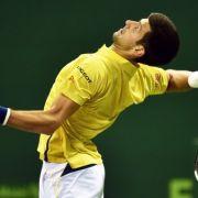 Rafael Nadal chancenlos - Novak Djokovic tiumphiert in Doha (Foto)