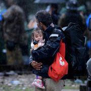 Medienbericht: 22.000 neue Flüchtlinge erreichen Deutschland (Foto)