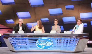 Die DSDS-Jury der 13. Staffel: HP Baxxter, Vanessa Mai, Michelle und Dieter Bohlen. (Foto)
