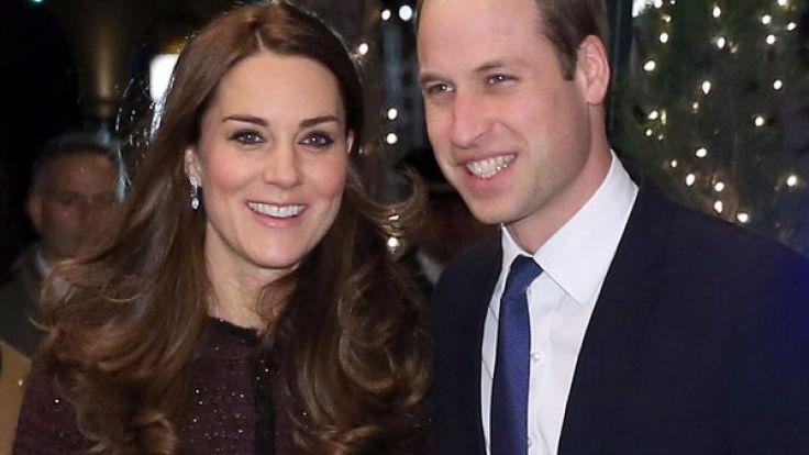 Herzogin Catherine von Cambridge und ihr Mann, Prinz William. (Foto)