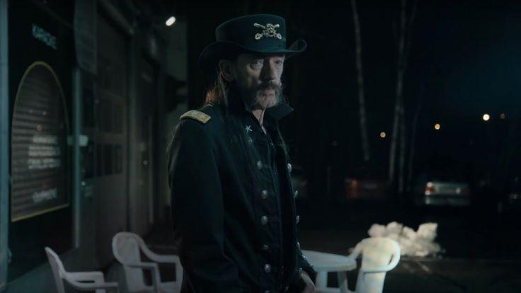 """""""Ich habe nie Milch getrunken"""": Eine schwedische Milchmarke gedenkt mit einem Werbeclip dem verstorbenen Motörhead-Frontmann Ian """"Lemmy"""" Kilmister. Der Clip wurde wenige Wochen vor seinem Tod gedreht. (Foto)"""