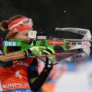 Doppel-Triumph für Dahlmeier - Biathlon-Männer chancenlos (Foto)