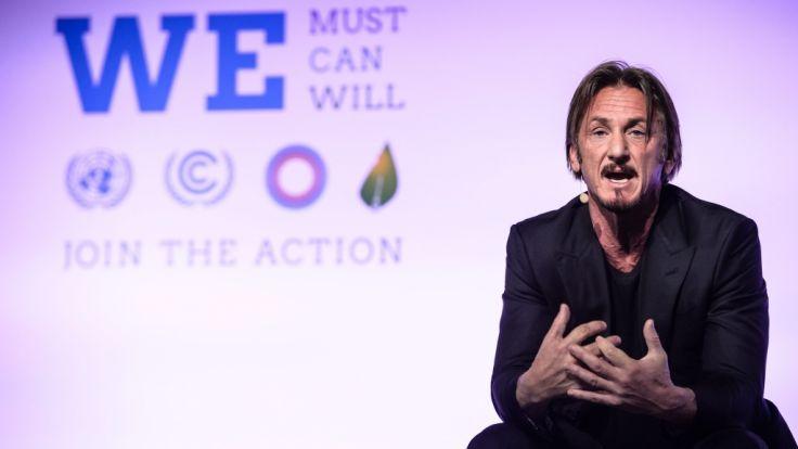 """""""Ich habe einen Hinweis erhalten, dass die DEA von unserer Reise wusste"""": Ob US-Schauspieler Sean Penn sich nun vor dem Drogenboss fürchten muss? (Foto)"""