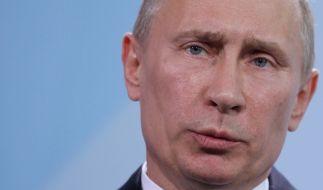 Wladimir Putin sieht sich vom Westen isoliert. (Foto)
