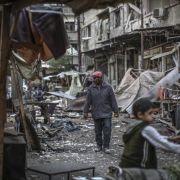 400 Menschen in syrischer Stadt droht Hungertod (Foto)