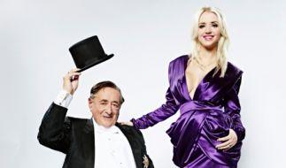 Hat Angst vor der sexuellen Power seiner jungen Frau: Richard Lugner mit seiner Cathy. (Foto)
