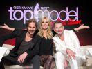 "Die neue ""Germany's next Topmodel""-Jury, bestehend aus Heidi Klum, Thomas Hayo und Michael Michalsky (r.). (Foto)"