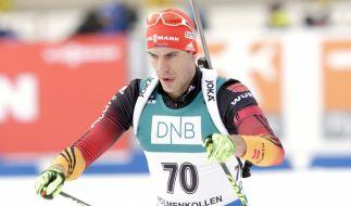 Arnd Peiffer verpatzte die 20km beim Weltcup in Ruhpolding. (Foto)