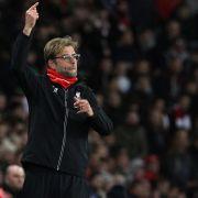 Liverpool und Klopp mit Last-Minute-Remis gegen FC Arsenal (Foto)