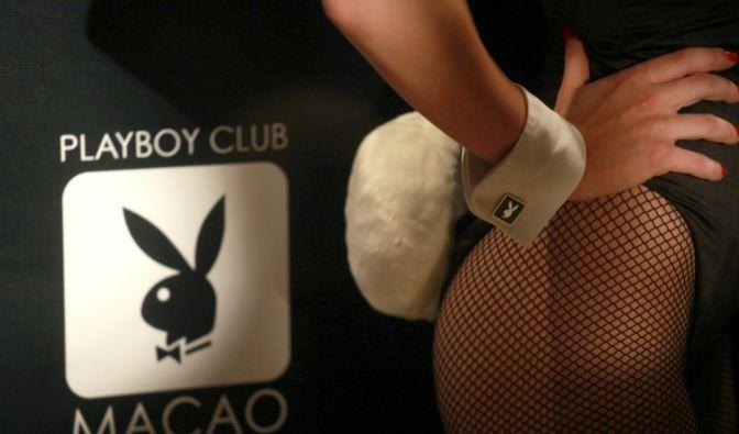 Nackt im Playboy