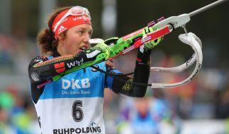 Laura Dahlmeier konnte ihre Siegesserie in Ruhpolding nicht fortsetzen. (Foto)