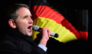 Björn Höcke in Erfurt. (Foto)