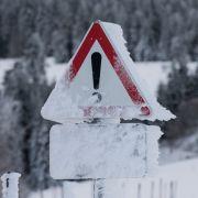 Tief Emma verursacht Sturmböen und Stark-Schneefall (Foto)